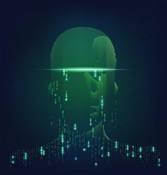 binaryman2 vector image