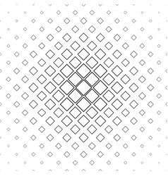 Black and white square pattern background vector