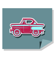 Classic Cars - 60s vector image