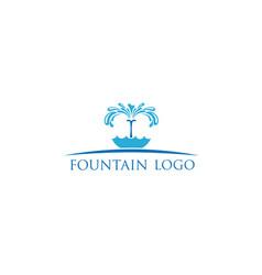 fountain-logo vector image