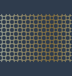 Geometric arabic seamless pattern islamic golden vector