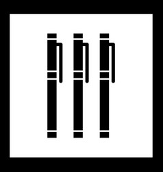 Markers icon vector