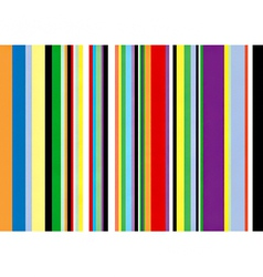 Multi coloured vertical stripes vector