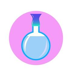 perfume in circle vector image