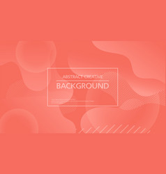 Simple creative background abstraction vector