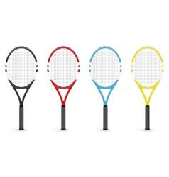 Tennis rackets vector