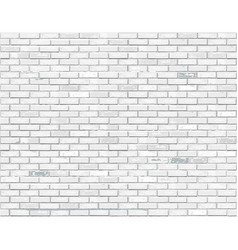 White brick background vector