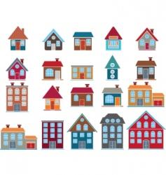 buildings vector vector image