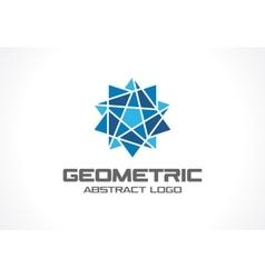Abstract business company logo social media vector