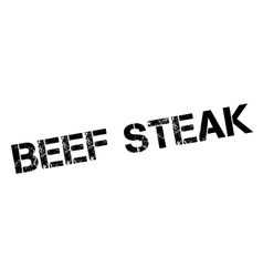 Beef Steak rubber stamp vector