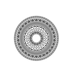 circular pattern in form mandala vector image