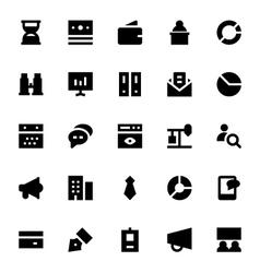 Market and Economics Icons 2 vector image