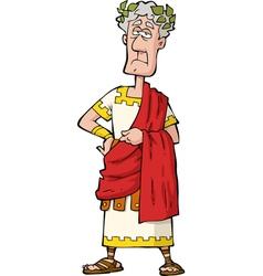 Roman emperor vector