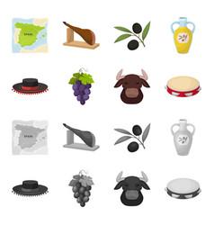 The hat of the todeador the matador a bunch of vector