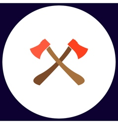 Two axes computer symbol vector image