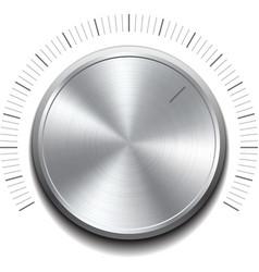 Volume button -music knob vector