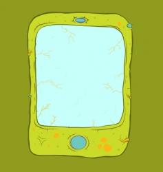zombie phone vector image