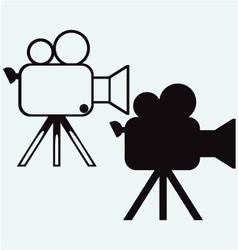 Camcorder vector image