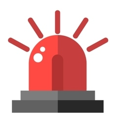 Flasher alarm vector image