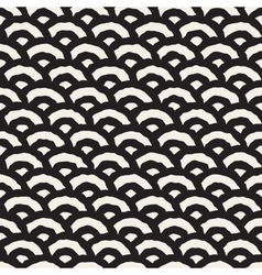Seamless Hand Painted Line Geometric vector image
