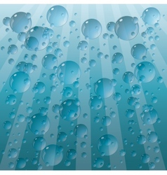 background from the drops vector image vector image