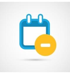 Calendar Icon - remove vector image