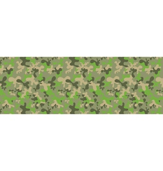 Camouflage web banner vector
