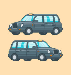 colorful taxi concept vector image