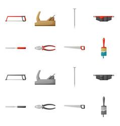 Design household and repair symbol set vector