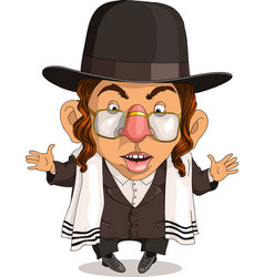 funny jew vector image
