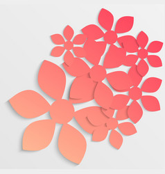 paper flower origami26 vector image