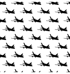 Plane pattern seamless vector image