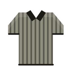 Referee tshirt wear symbol vector
