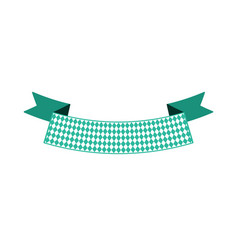 ribbon banner for text flat color vector image