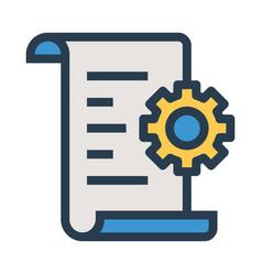 Setting file vector