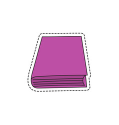 Sketch books vector