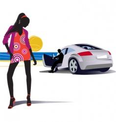 fashion lifestyle vector image