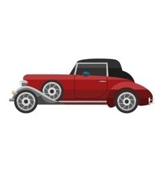 Retro car vehicle vector image vector image