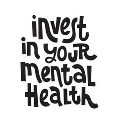 3 mental health quotes vector