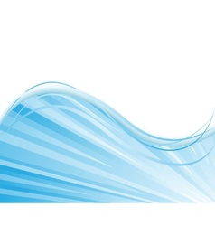 blue colored ray background vector image