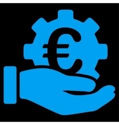 Euro Development Service Icon vector
