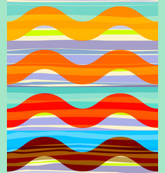Geometric abstract seamless pattern random vector