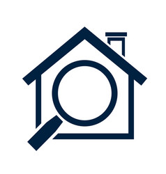 Home icon - real estate sign vector