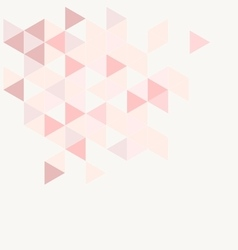 Pink grey and violet triangle modern background vector