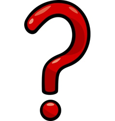 question mark clip art cartoon vector image