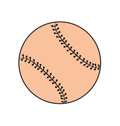 Sport baseball ball vector