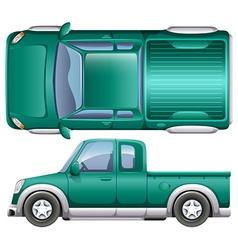 A pick up car vector