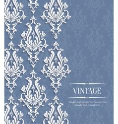 3d Vintage Background for Greeting or vector image