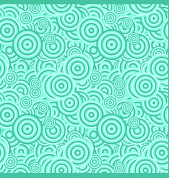 Abstract seamless pattern - concentric circle vector