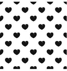 Angelic heart pattern seamless vector